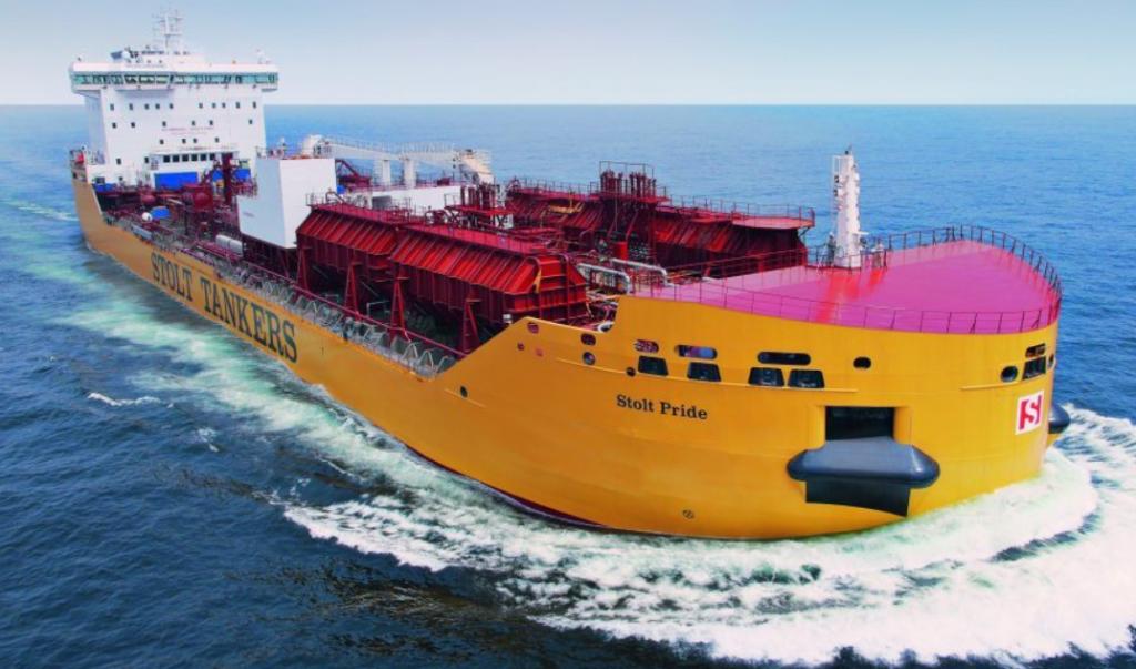 Stolt Pride tanker