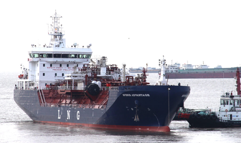 Avenir takes delivery of its first LNG bunkering vessel