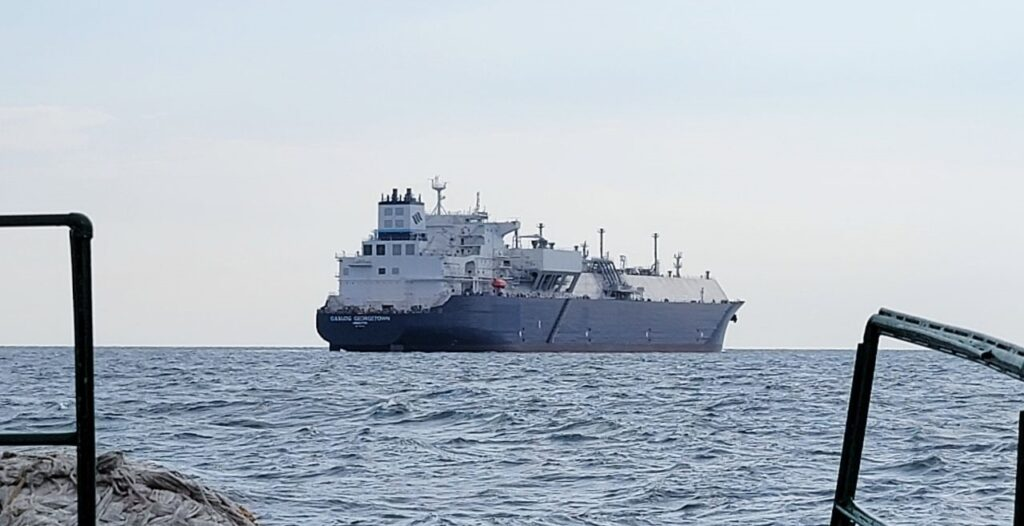 GasLog Georgetown wraps up sea trials