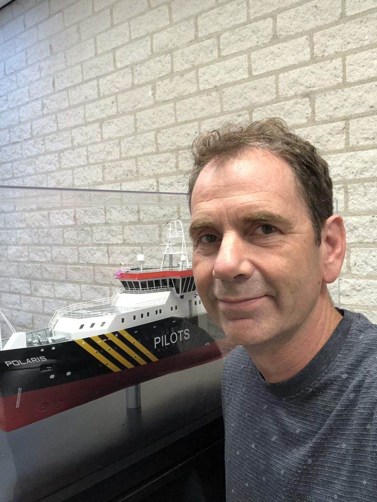 "Jeroen van Tilborg, founder and managing director, D&A Electric: ""The big challenge is to control the overall flow of power on the ship."""
