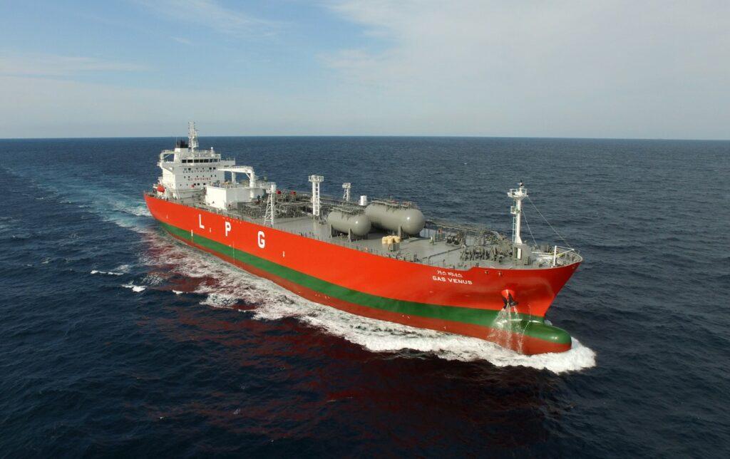 LPG Tanker Gas Venus