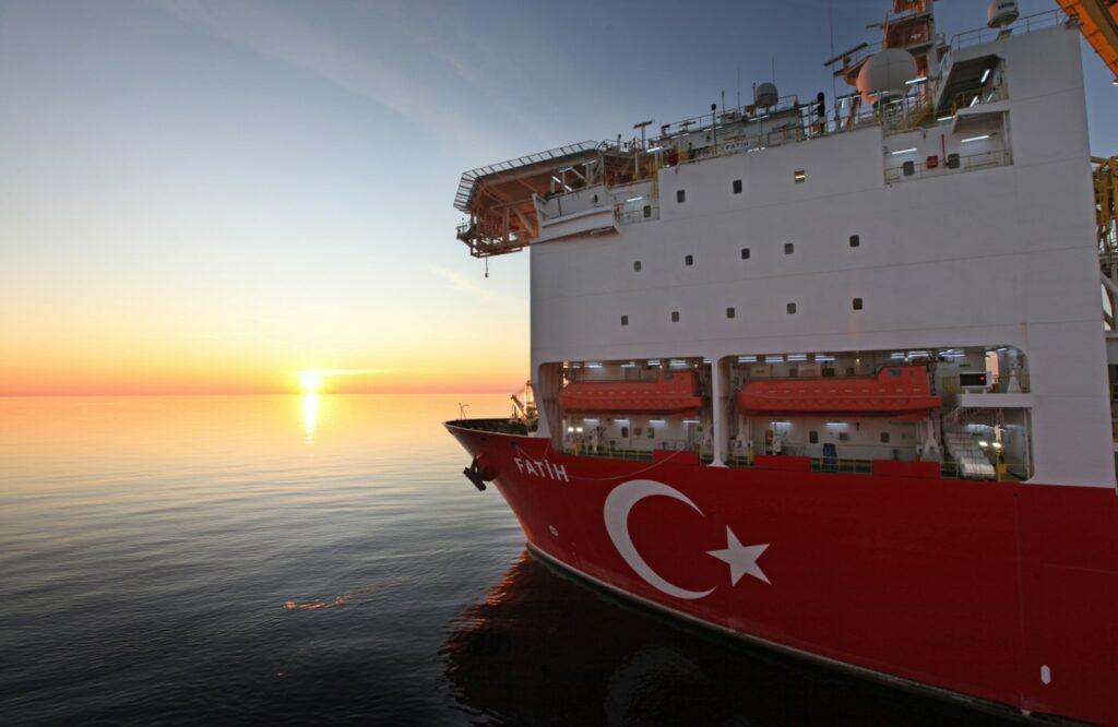 Fatih drillship; Source: TPAO