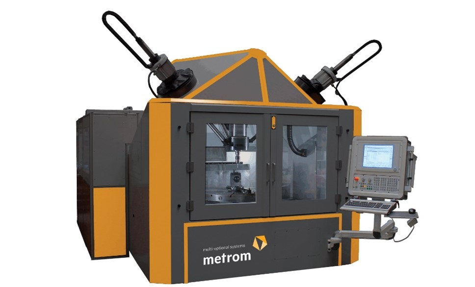 Heart of the production unit is a multi-optional 6-axis machining centre