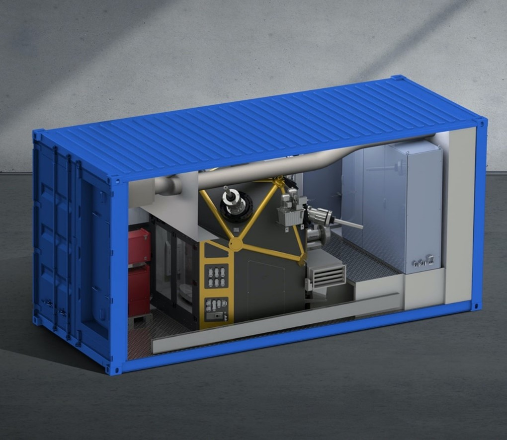 A modular and independent 'factory in a box'