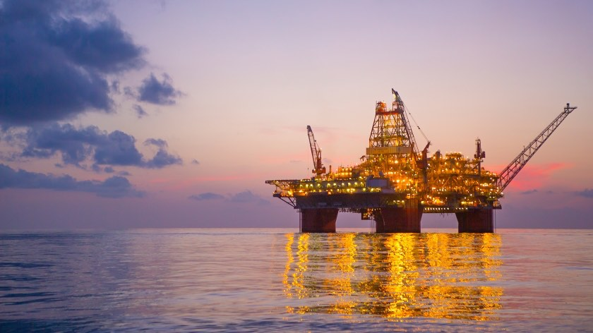 Thunder Horse platform in the Gulf of Mexico - BP