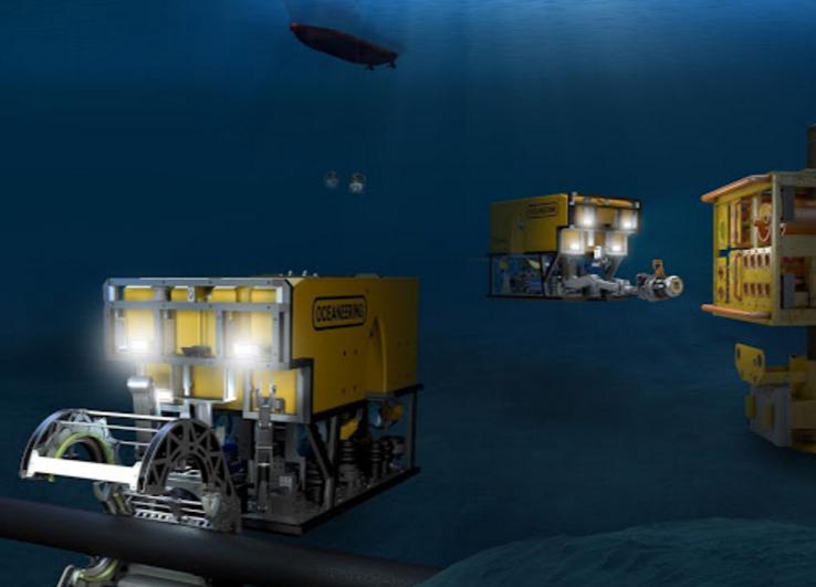 Oceaneering ROVs