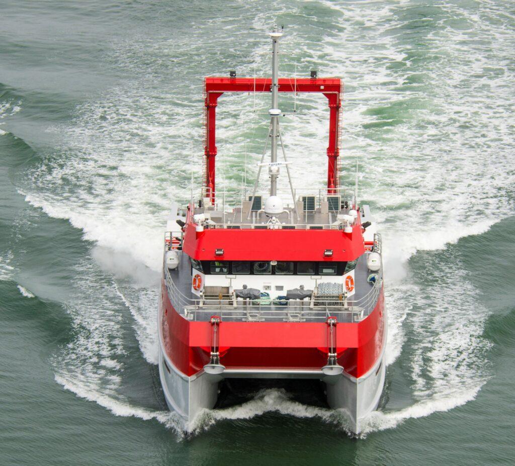 Offshore Guardian survey vessel