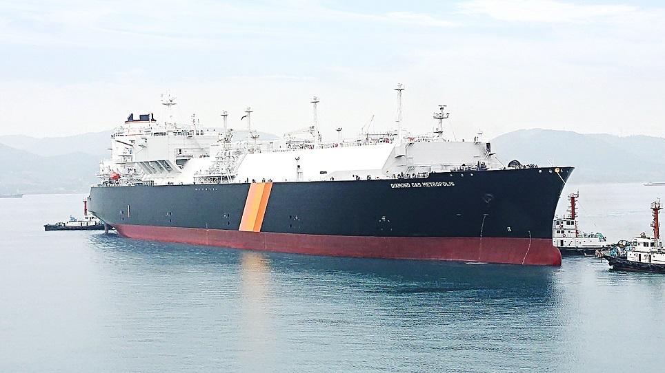 Cameron LNG-dedicated tanker delivered