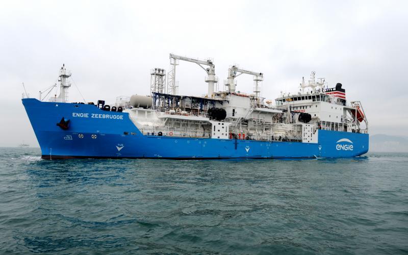 NYK takes full control of Green Zeebrugge LNG bunkering vessel