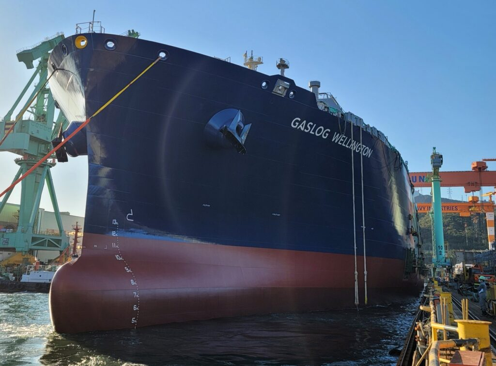 GasLog launches Cheniere-chartered LNG newbuild