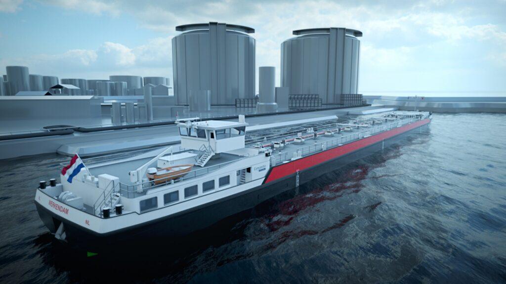 Concordia Damen scores 40 LNG-fueled barges order