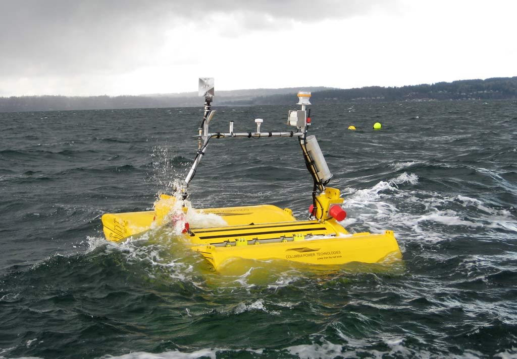 A photo of the SeaRAY device (Courtesy of C-Power)