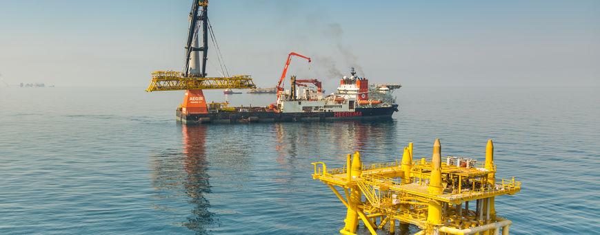 Al-Shaheen Gallaf 1 Project - Heerema Marine Contractors