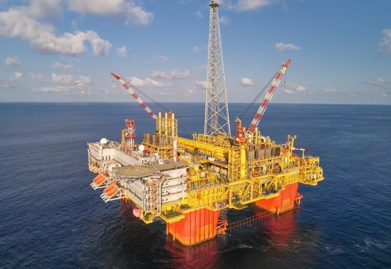 Ichthys LNG offshore central processing facility; Source: McDermott