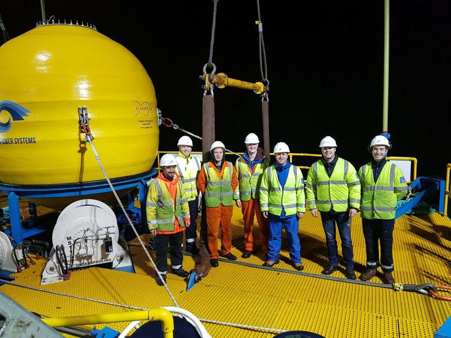 A photo of Marine Power Systems' team (Courtesy of Marine Power Systems)