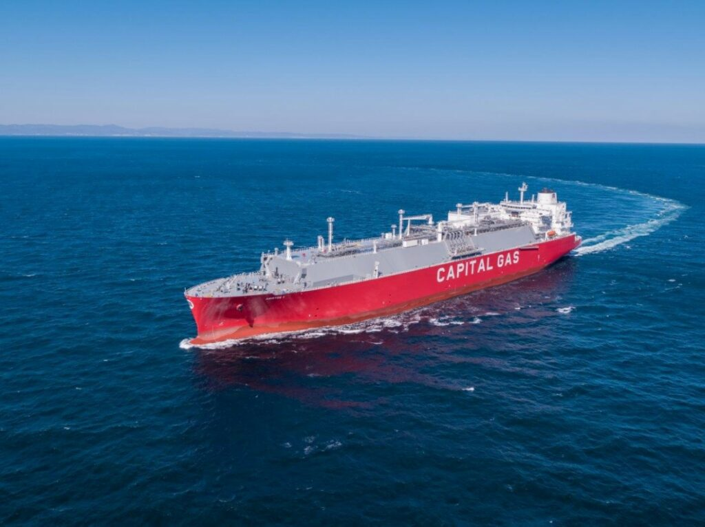 Capital Gas takes delivery of LNG newbuild
