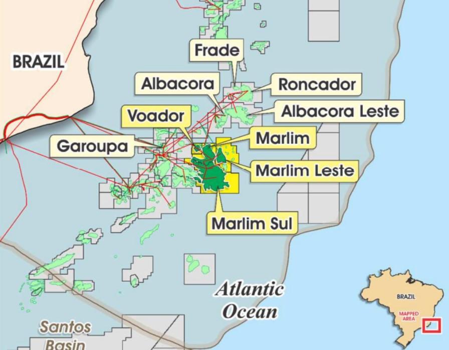 Marlim Cluster; Source: Petrobras