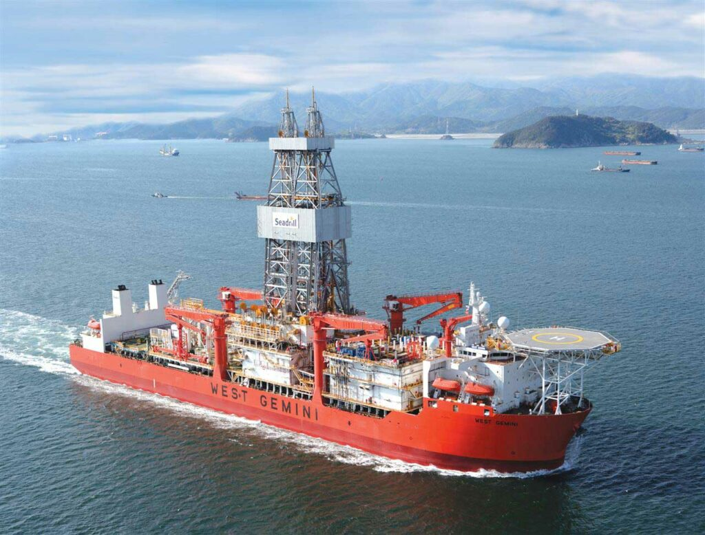 West Gemini drillship - Seadrill