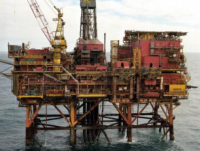 North Cormorant platform - TAQA