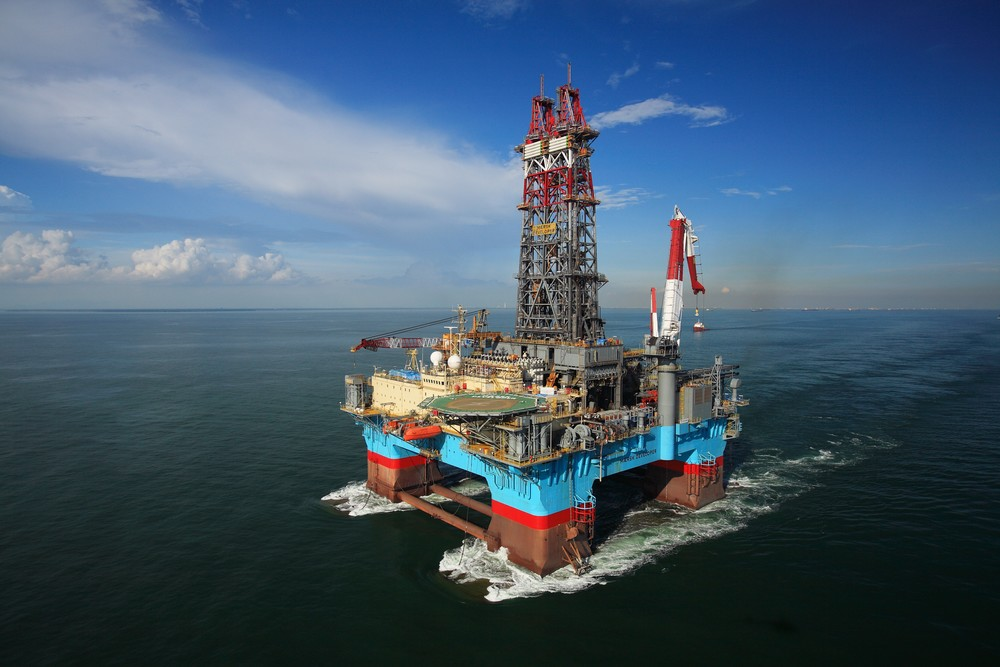 Maersk Developer semi-sub rig