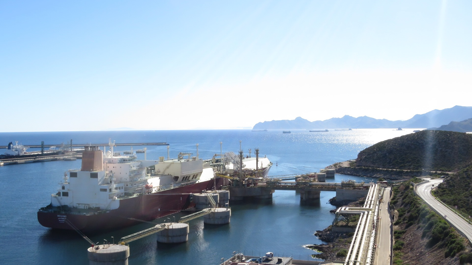 Spain's October LNG imports dip