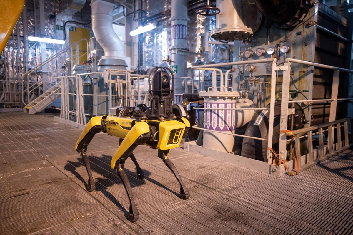 Spot, the quadruped robotic dog - Aker BP