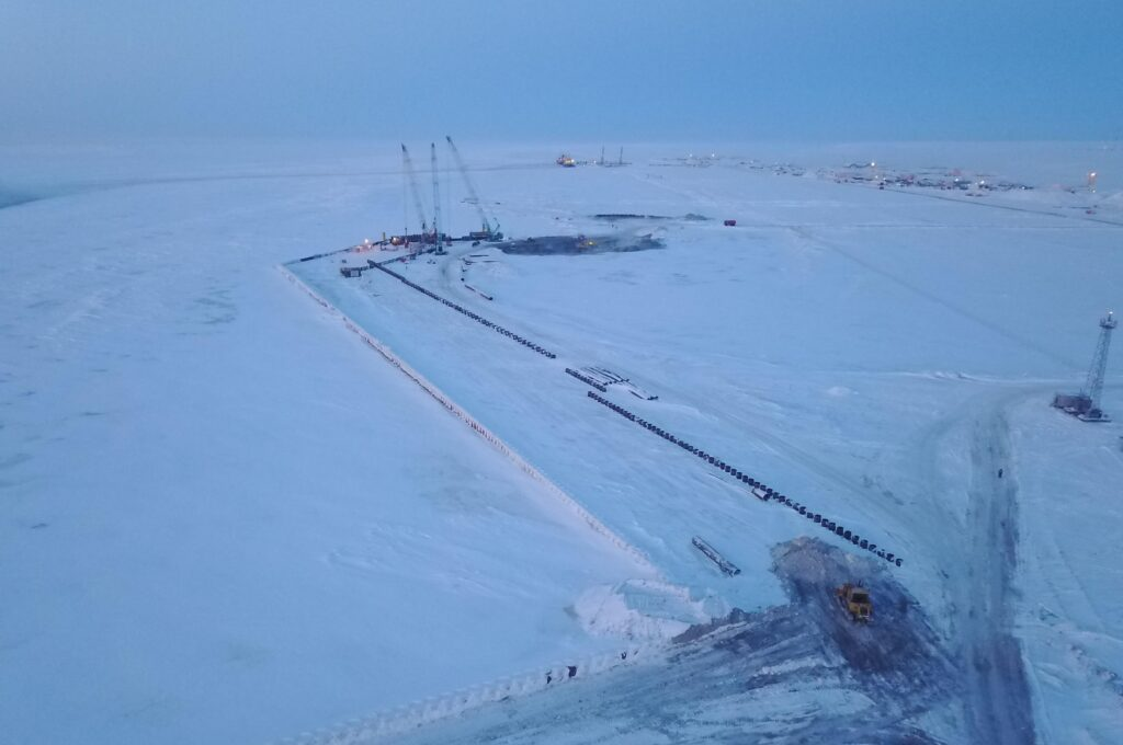 Arctic LNG 2 project 29 pct done