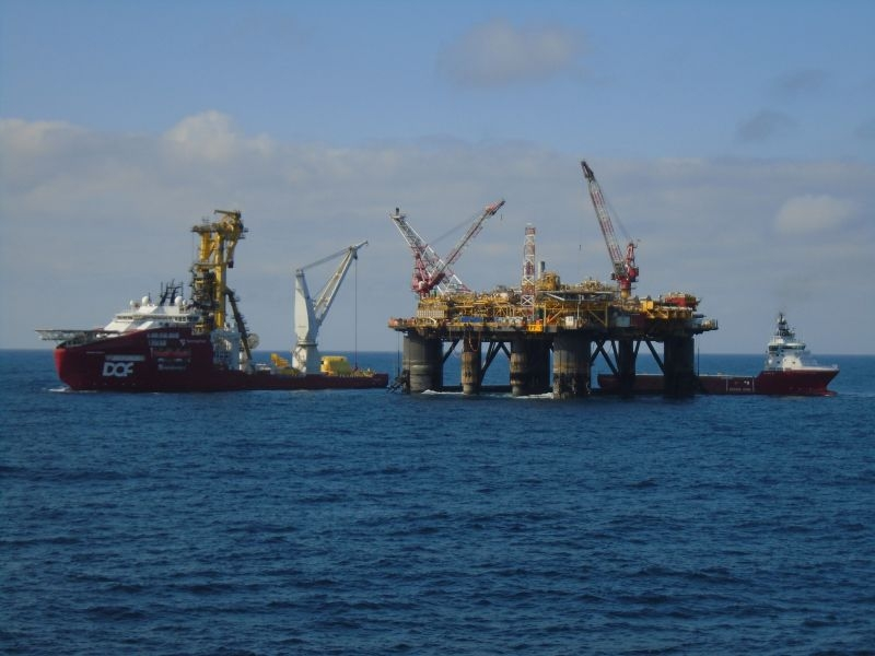 Ithaca's FPF-1 floating production facility - BP