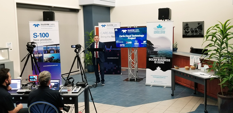 Canada's Ocean Supercluster award for Teledyne CARIS