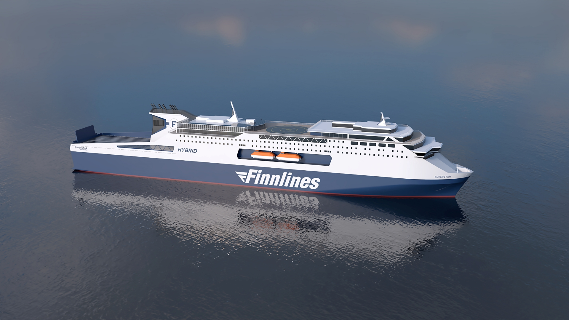 Wärtsilä bags tech order for Finnline's hybrid ferries duo