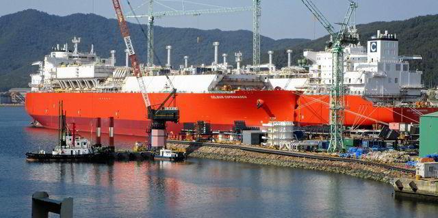 Celsius charters LNG tanker trio to Cheniere