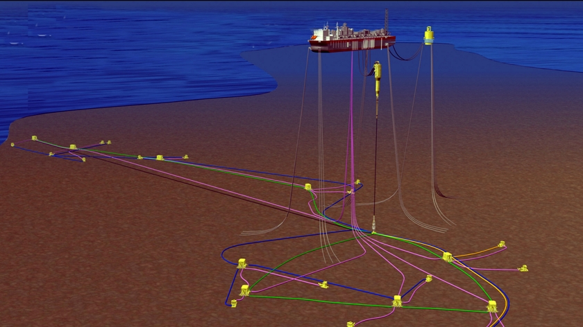 Greater Plutonio subsea system; Source: BP