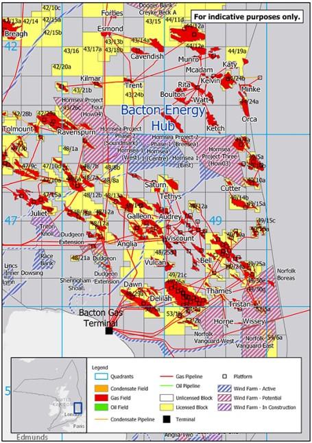 Bacton Energy Hub; Source: OGA