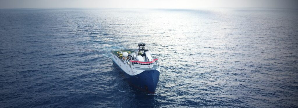 A photo illustration (Courtesy of Shearwater GeoServices)