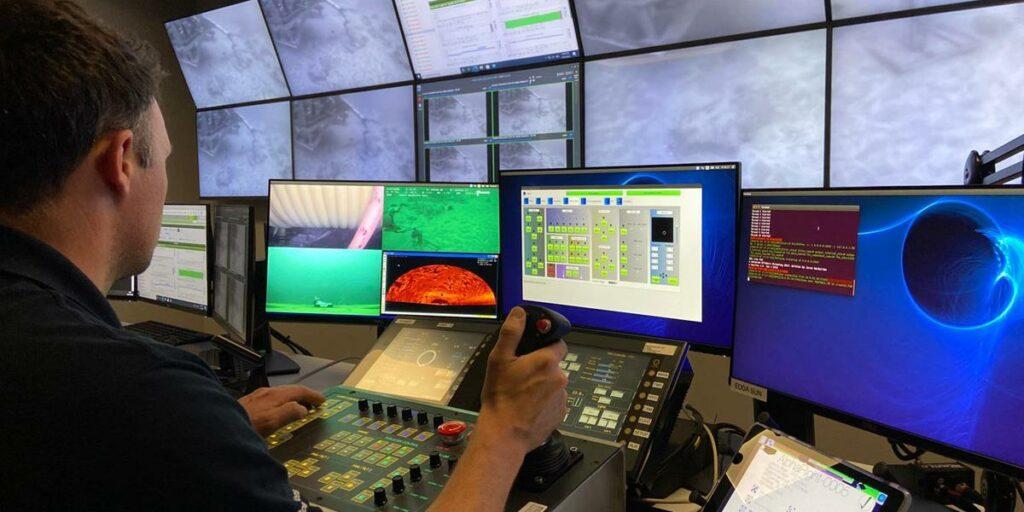 A photo of Fugro's remote operations centre (Courtesy of Fugro)