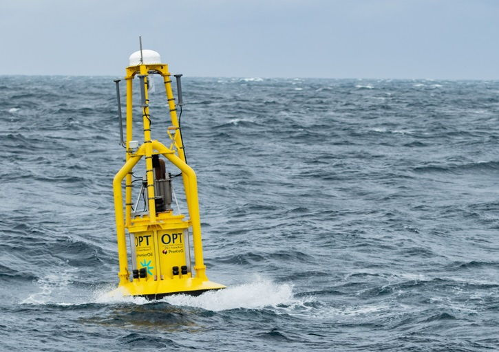A photo of OPT's PB3 operating in North Sea for Premier Oil (Courtesy of OPT)
