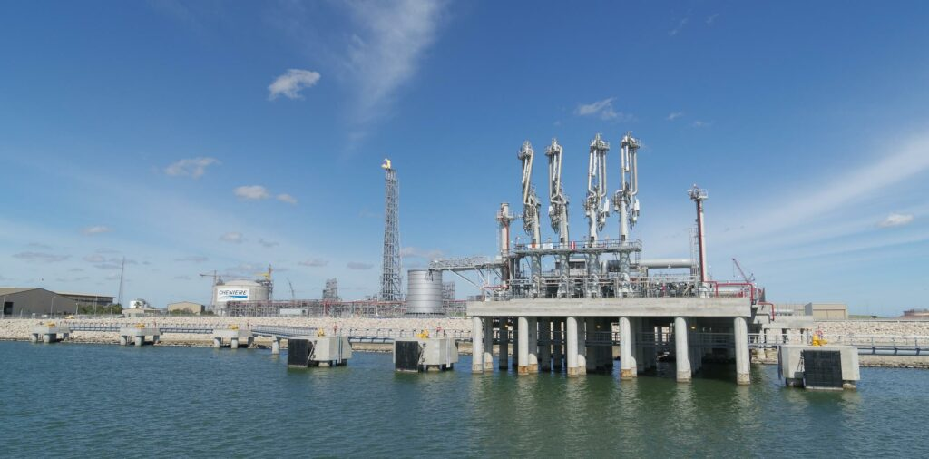Corpus Christi LNG Train 3 first commissioning cargo loaded