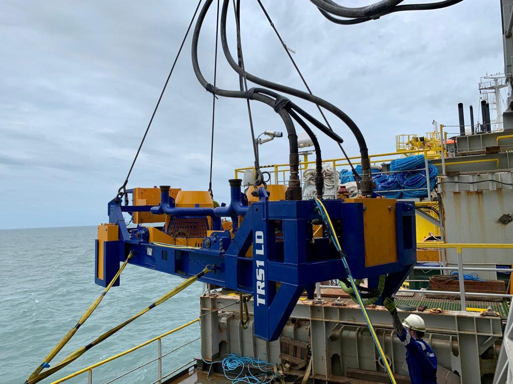 Photo of TRS1-LD Taiwan scope (Courtesy of Rotech Subsea)