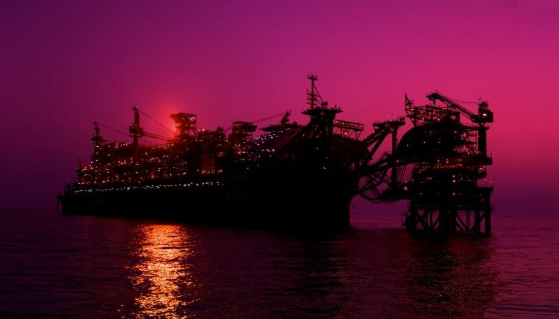 CNOOC's Penglai oilfield facilities in Bohai Sea
