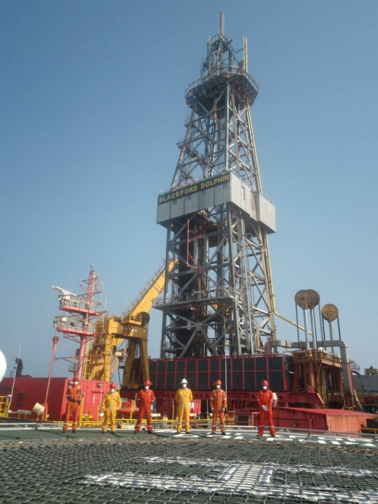 Blackford Dolphin rig - Dolphin Drilling