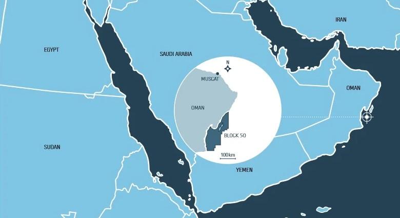 Masirah Oil's Block 50 offshore Oman