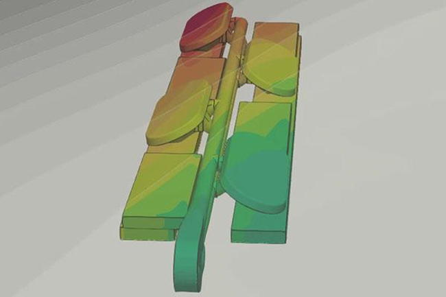 Image of mWave under CFD simulations (Courtesy of HR Wallingford)