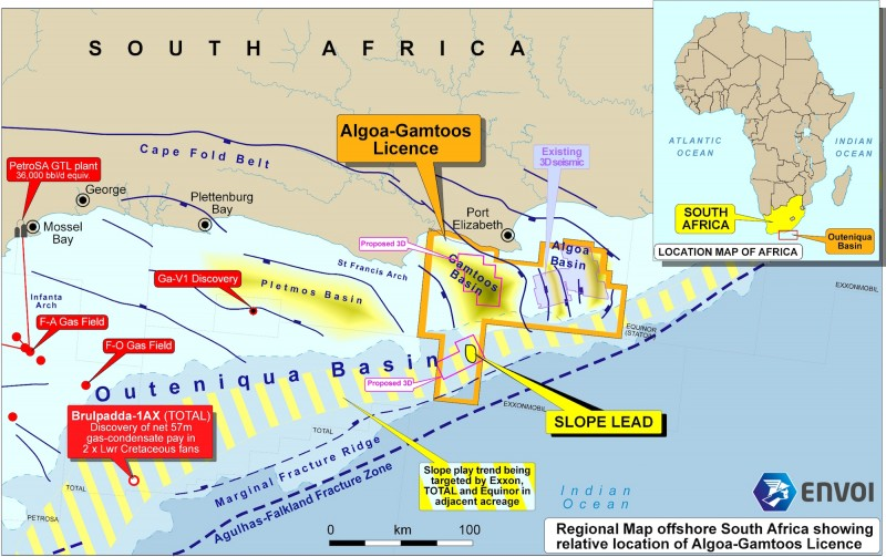 The New Age-operated Algoa-Gamtoos licence off South Africa