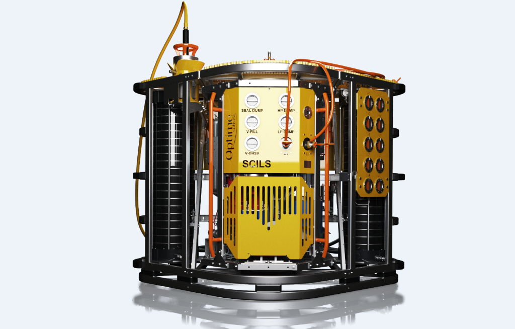 Photo of Optime Subsea's subsea control system SCILS (Courtesy of Aker BP)