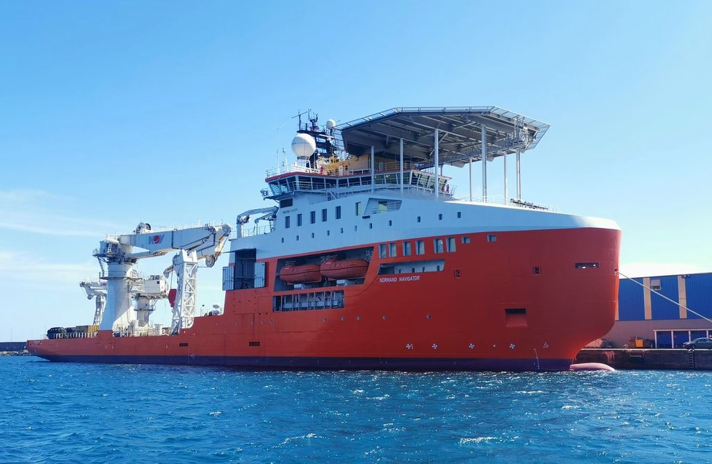 A photo of Normand Navigator (Courtesy of Solstad Offshore)