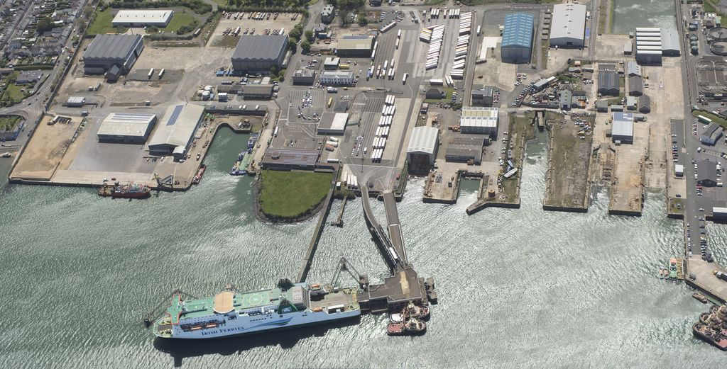 Photo of Pembroke Port (Courtesy of Port of Milford Haven)