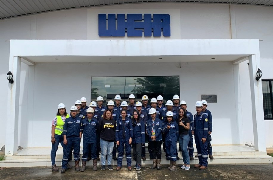 Weir Oil & Gas' Thai workforce; Source: Weir