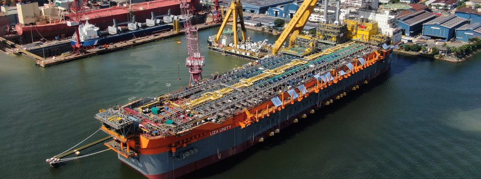 Liza Unity FPSO - SBM Offshore