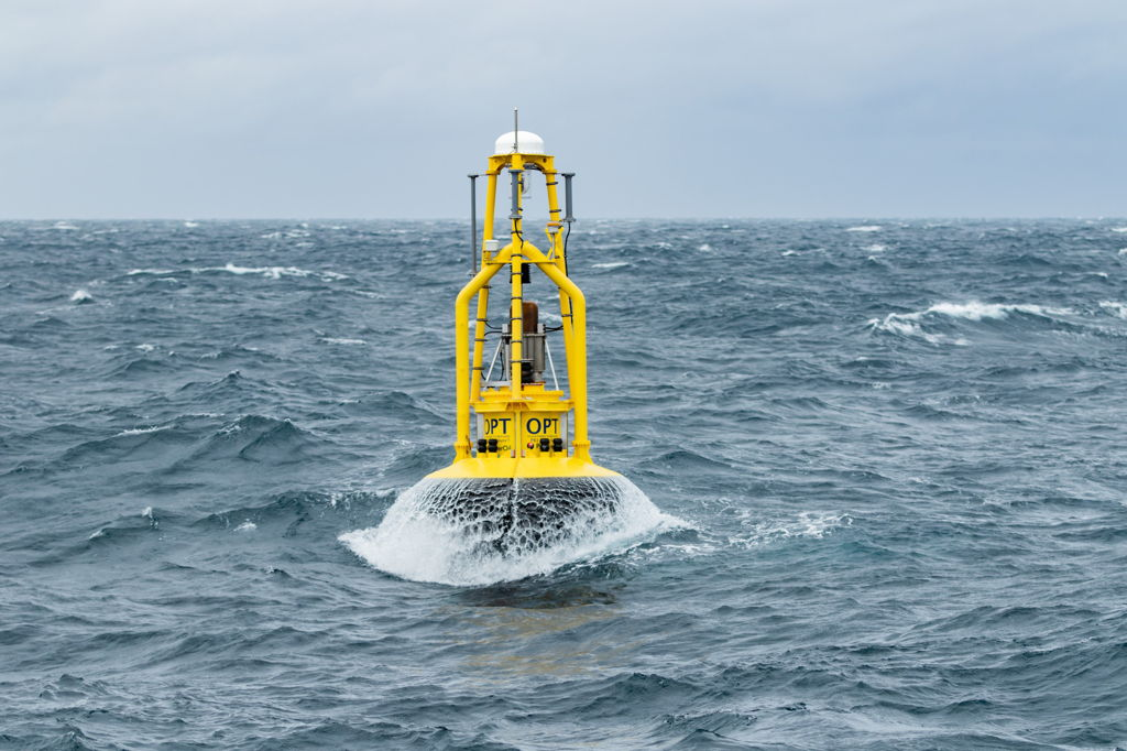 Photo of OPT's PB3 Operating in the North Sea for Premier Oil (Courtesy of OPT)