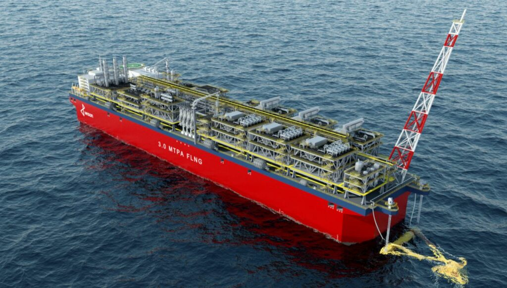 ABS approves Wison's standardized FLNG designs